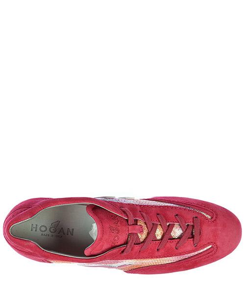 Scarpe sneakers donna camoscio olympia h flock secondary image