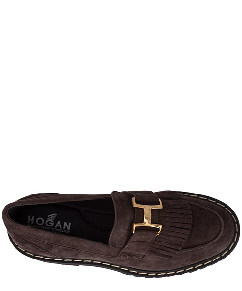 Damen wildleder mokassins slipper h543 secondary image