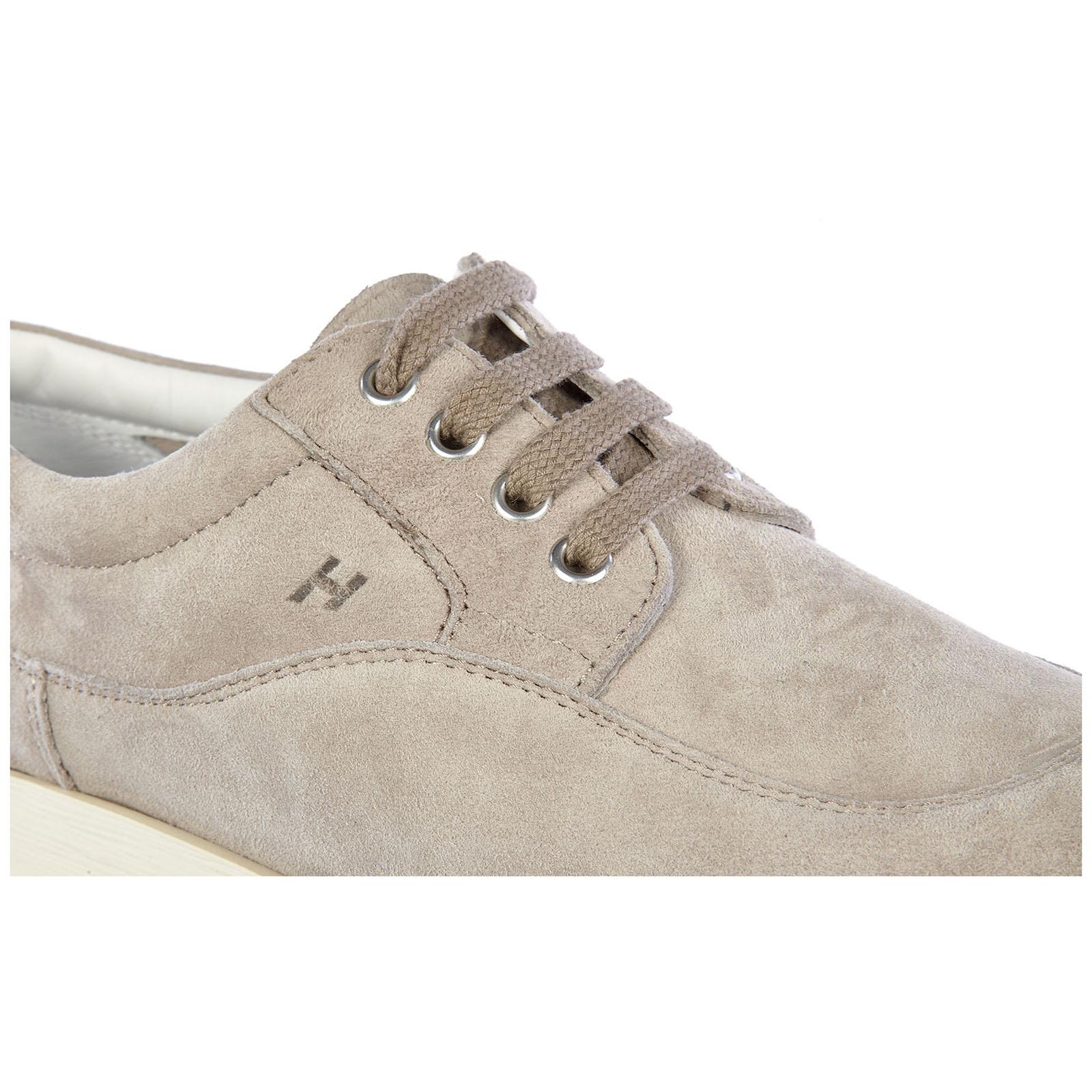 Scarpe sneakers donna camoscio fondo traditional