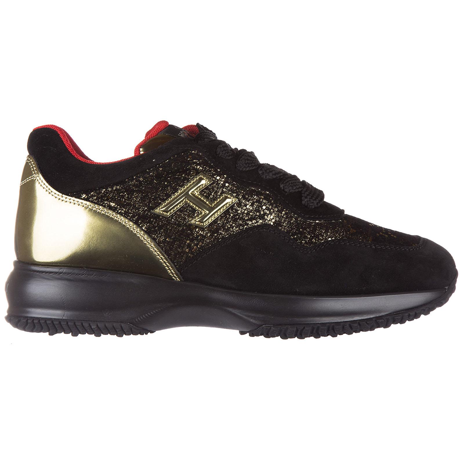 Scarpe sneakers donna camoscio interactive h 3d