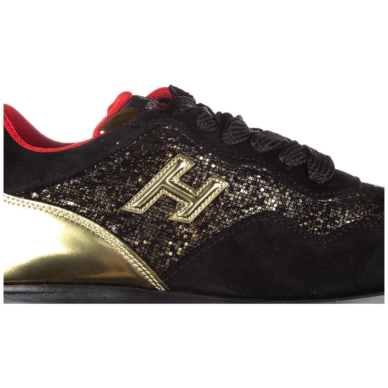 Hogan Club Scarpe Sneakers Donna camoscio Nuove Interactive h 3D Oro EU 36 GYW00N0W660F7E0L9N ADlvIn