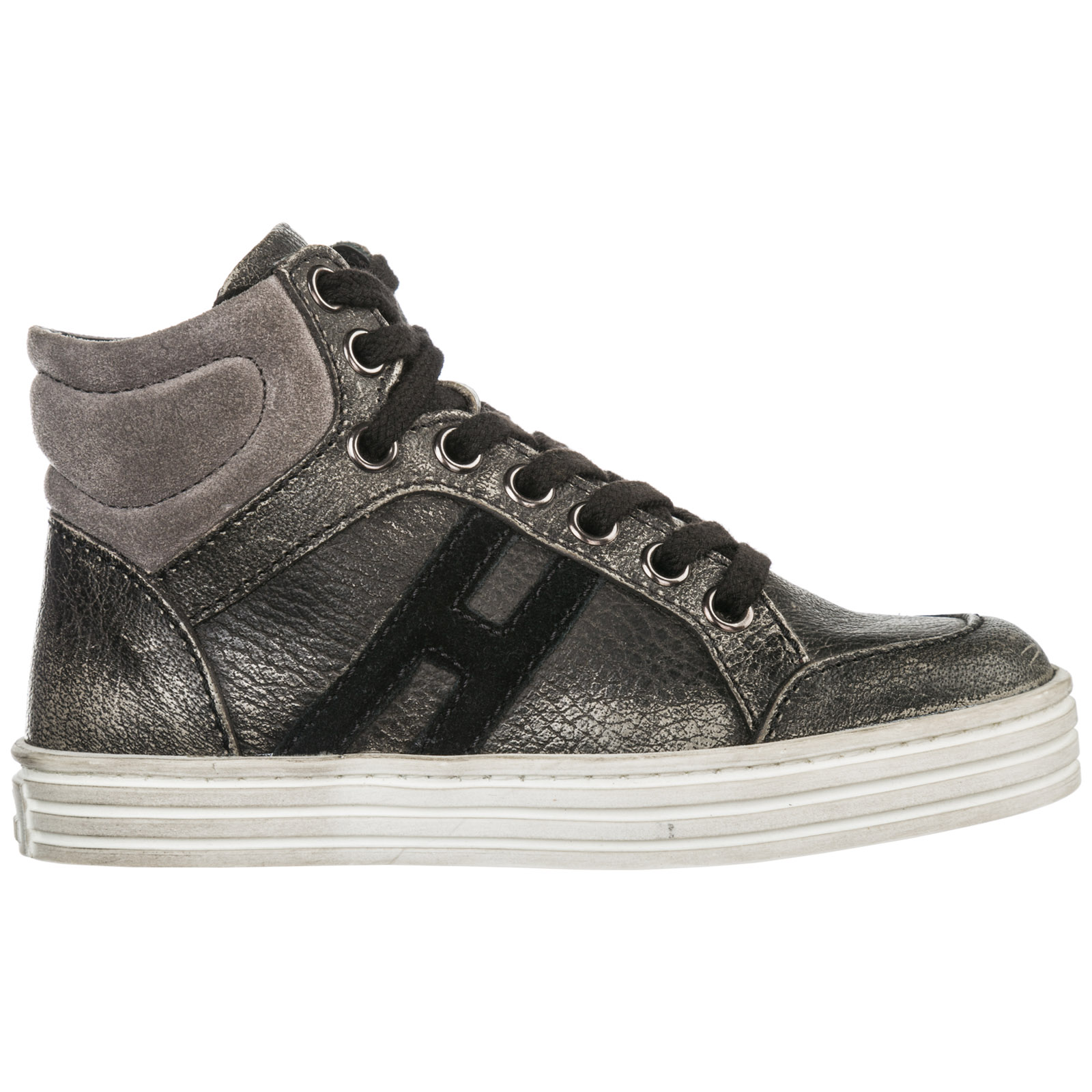 100% authentic most popular finest selection High-top sneakers Hogan Rebel r141 HXC141072827ER9032 grigio ...