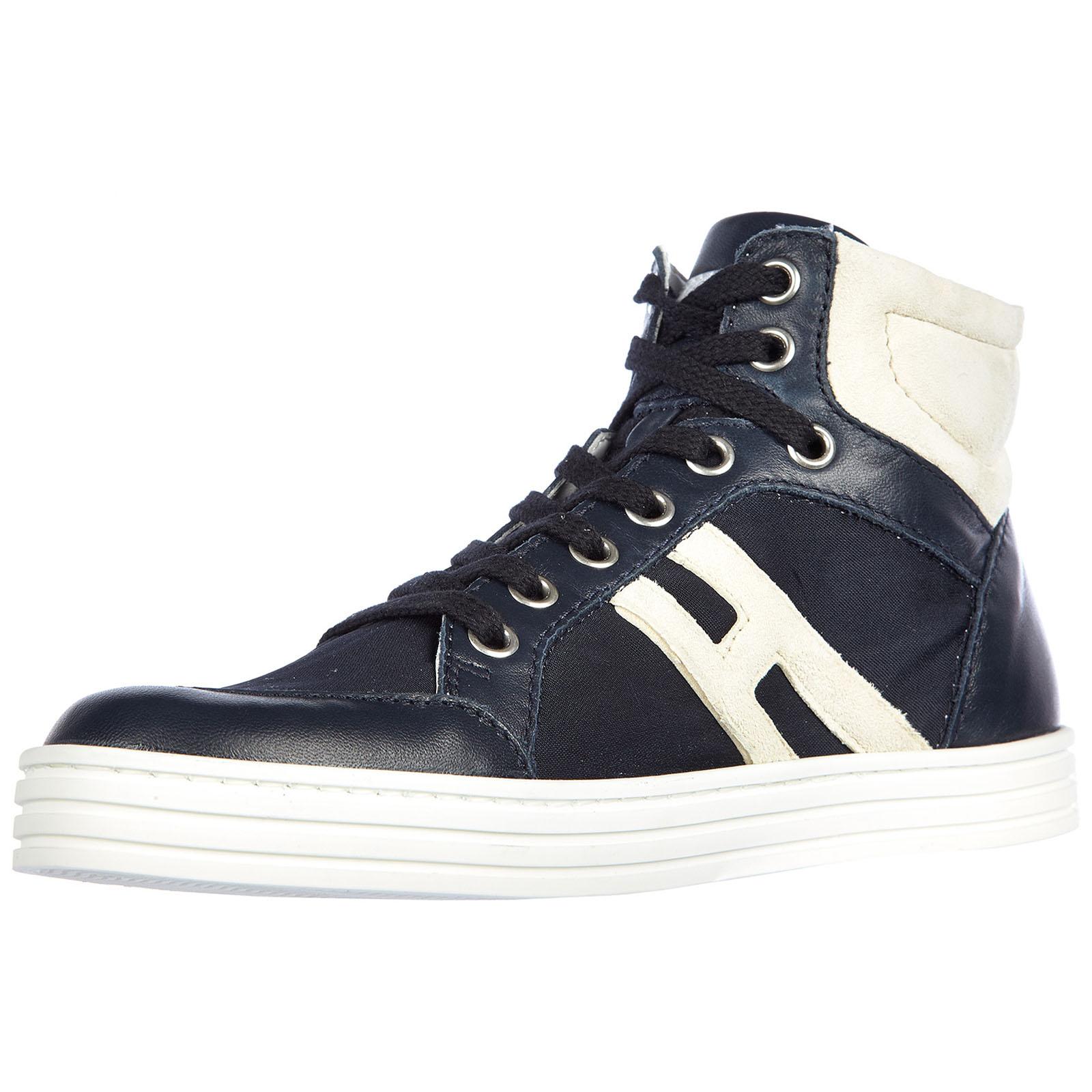 f6f5a1640aab0 ... Chaussures baskets sneakers enfant garçon pelle rebel polacco basket ...