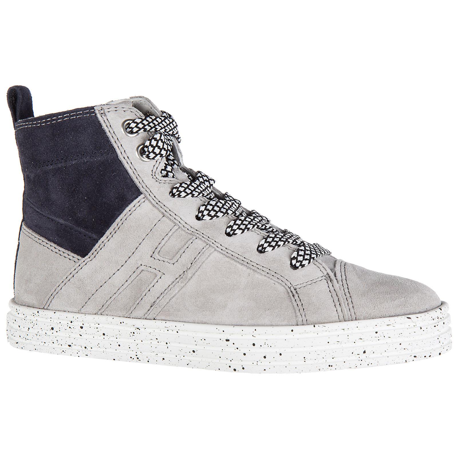 c1588ecab74c6 ... Chaussures baskets sneakers enfant garçon alte camoscio r141 mid cut  zip ...