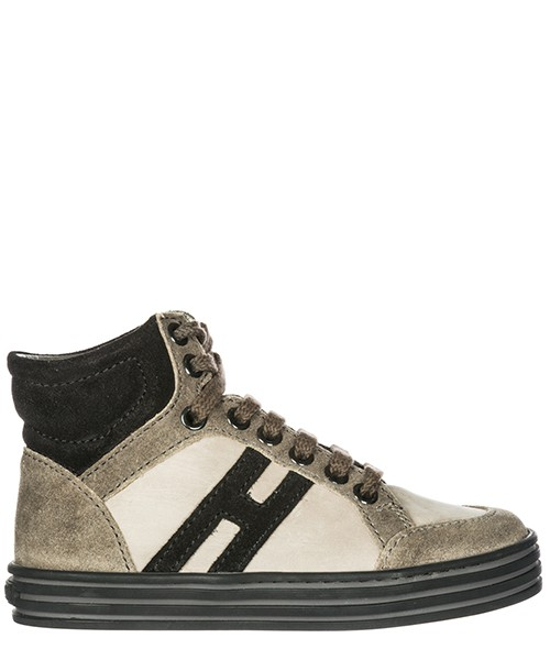 Sneaker high Hogan Rebel R141 HXC1410728267V407E palude / nero