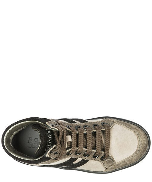 Boys shoes child sneakers alte camoscio secondary image