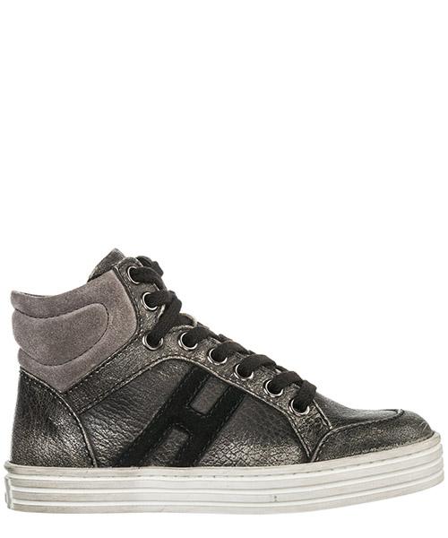 Sneakers alte Hogan Rebel r141 hxc141072827er9032 grigio