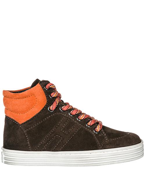 Высокие кроссовки Hogan Rebel HXC14107282MU00AZL marrone