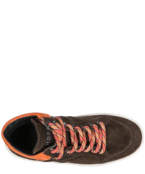 Детская обувь мальчик ребенок кроссовки alte camoscio r141 secondary image