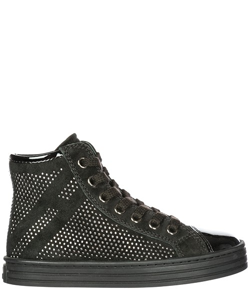High top sneakers Hogan Rebel R141 HXC1410P50055OB999 nero