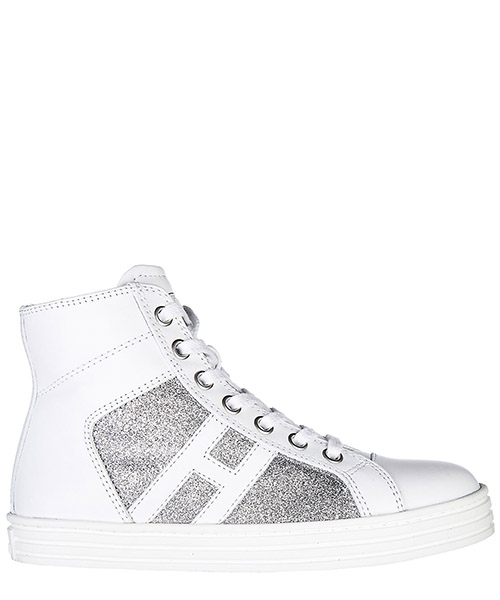 High top sneakers Hogan Rebel R141 HXC1410P990FTD0R37 bianco