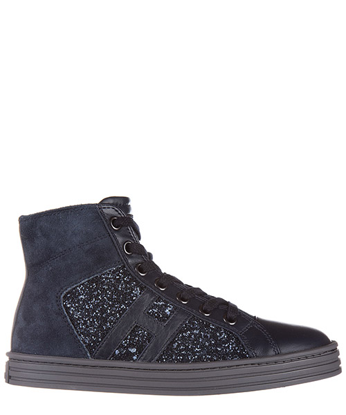 High-top sneakers Hogan Rebel HXC1410P991E1A0AS0 blu