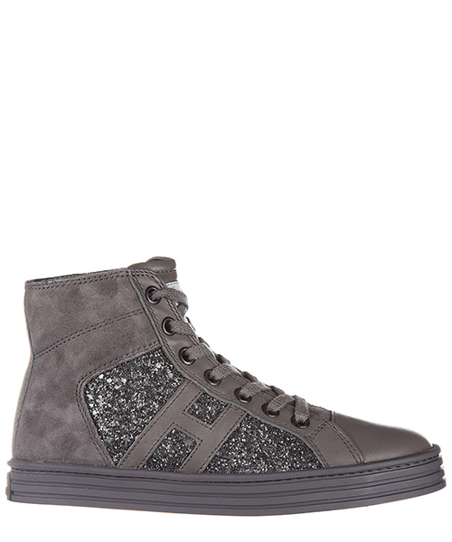 High-top sneakers Hogan Rebel R141 HXC1410P991E1AB401 piombo