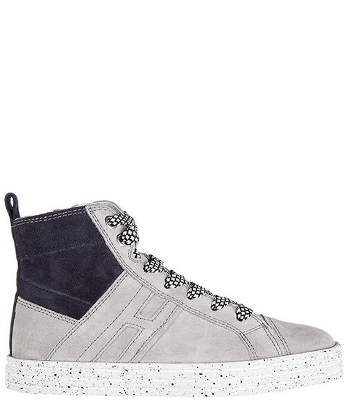 High top sneakers Hogan Rebel R141 HXC1410U770MU0062Q blu