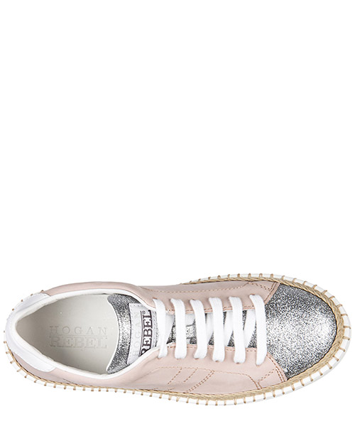 Chaussures baskets sneakers enfant filles pelle r260 allacciato secondary image