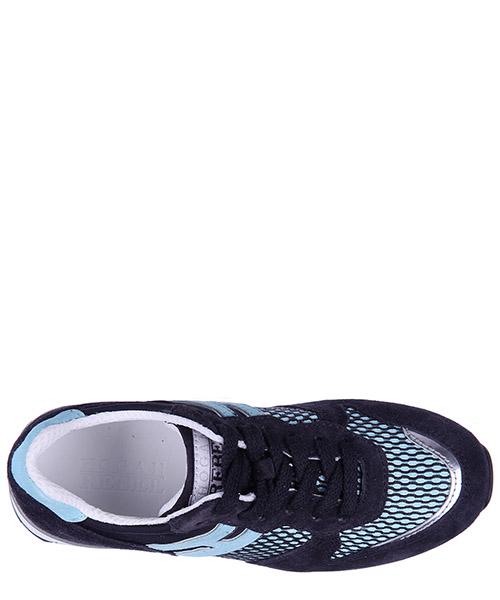Scarpe sneakers bambino camoscio r261 secondary image