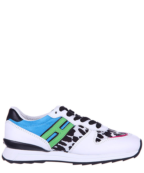 Turnschuhe Hogan Rebel Running - R261 HXC2610Q900D7Q0Q1B bianco