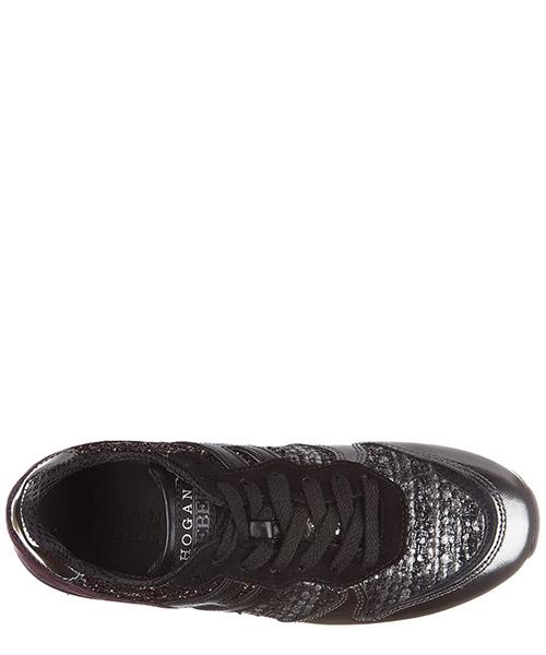 Scarpe sneakers bambina pelle r261 secondary image