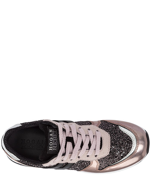 Chaussures baskets sneakers filles en cuir r261 allacciato secondary image
