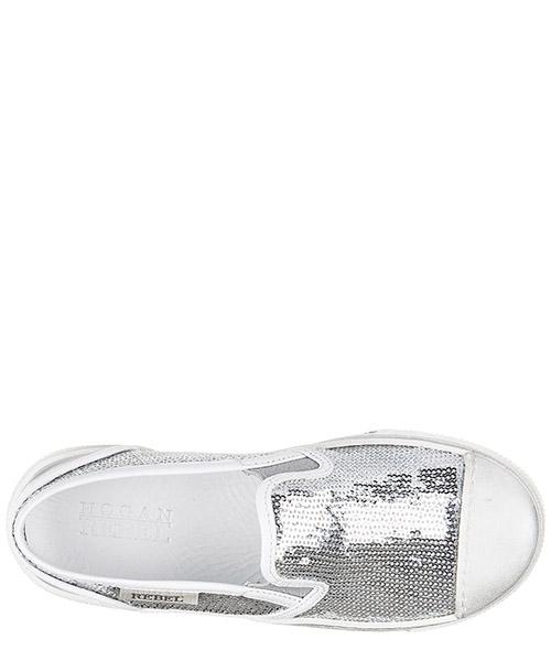 Scarpe sneakers bambina pelle r289 secondary image