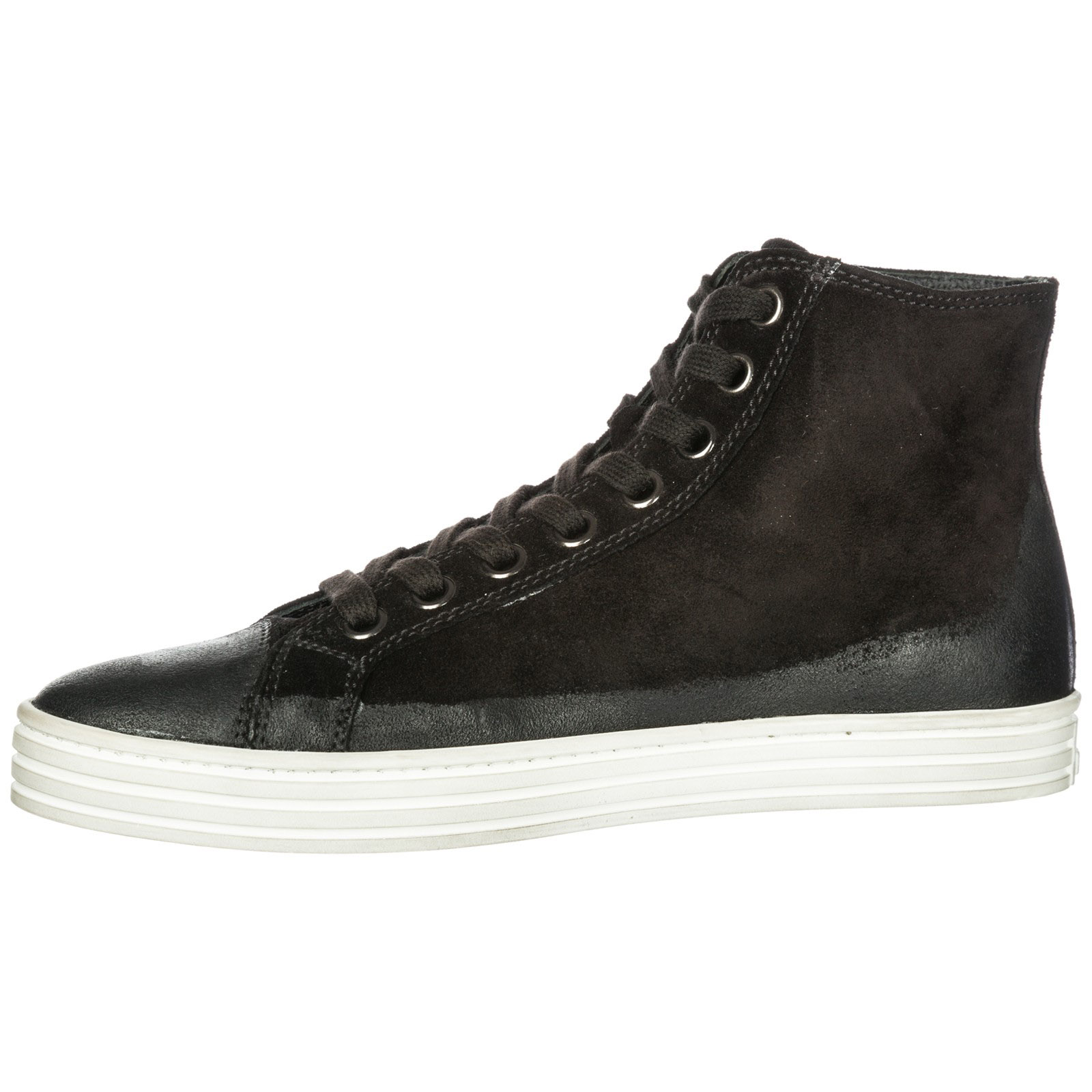 High top sneakers Hogan Rebel R141 HXM141094951OTB999 nero  f3af15f30c1