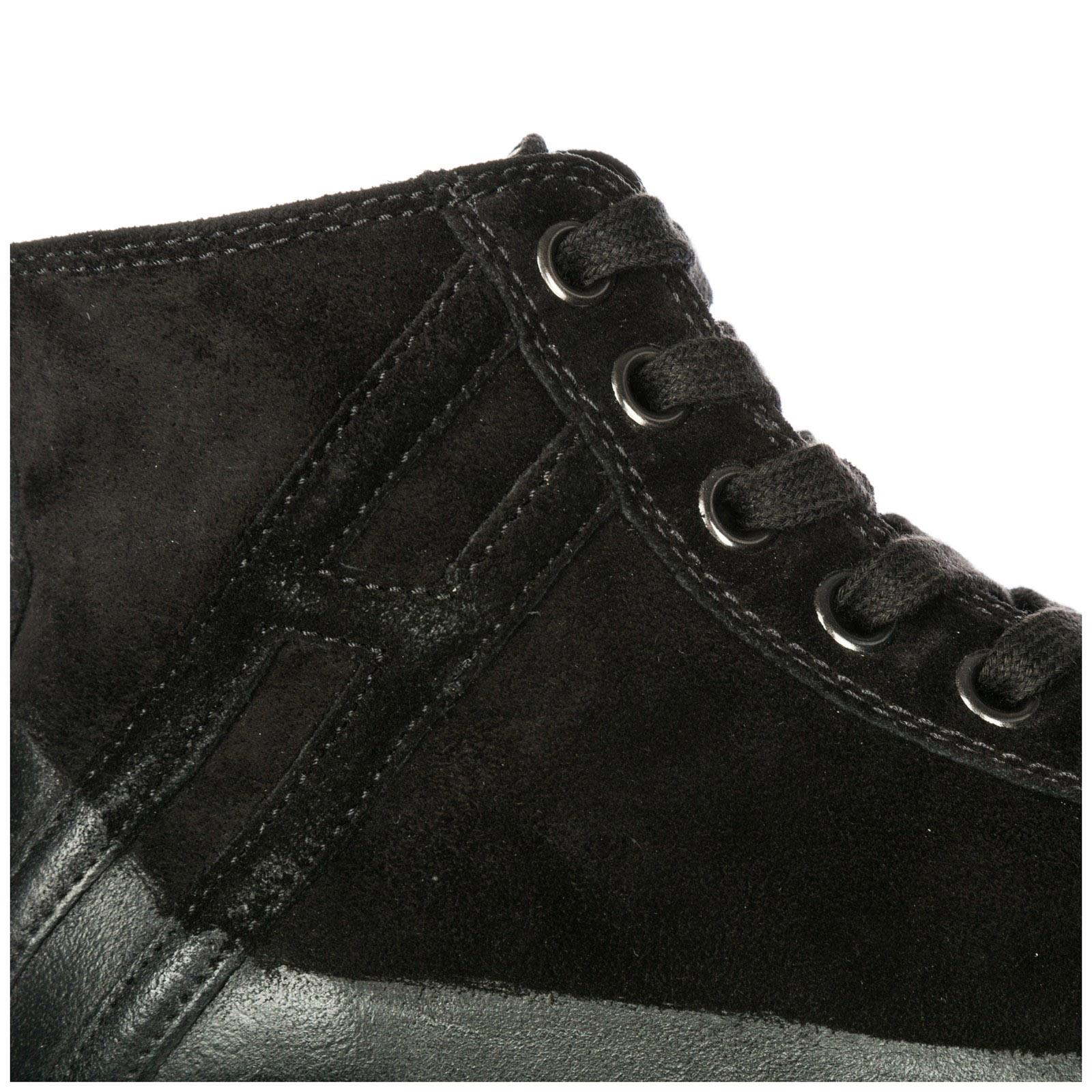Sneakers alte Hogan Rebel R141 HXM141094951OTB999 nero  a695e37546e
