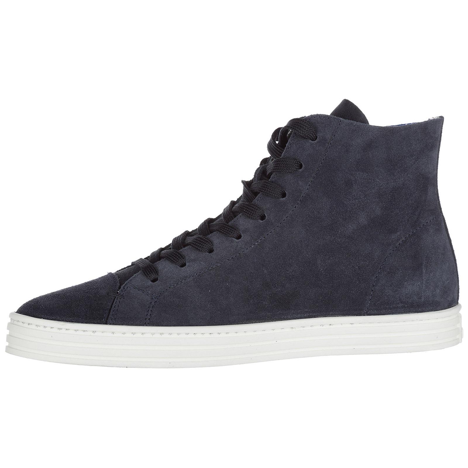Sneakers alte Hogan Rebel R141 HXM1410X730FFY090S blu  f869c545288