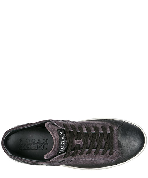 Chaussures baskets sneakers homme en cuir r141 secondary image