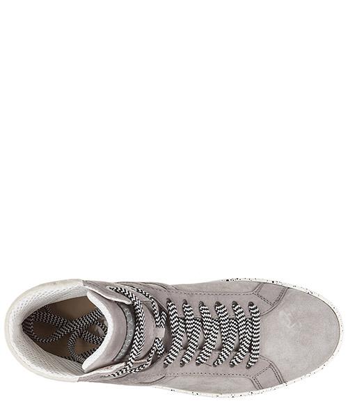 Zapatos zapatillas de deporte largas hombres en piel r141 secondary image