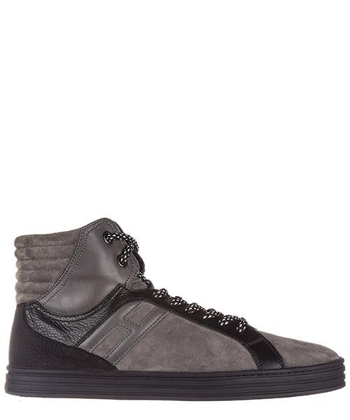 Sneakers alte Hogan Rebel HXM1410R283DWH0XD2 grigio