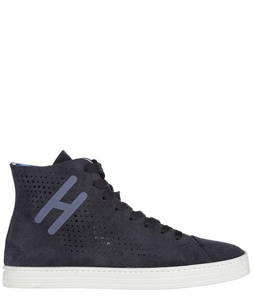 Sneakers alte Hogan Rebel R141 HXM1410X730FFY090S blu