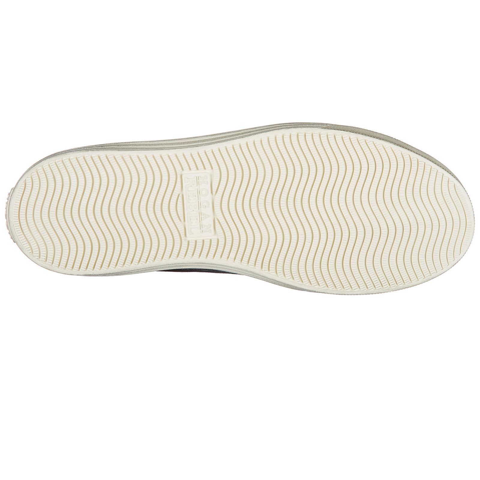 Precio De Fábrica Venta Barata Mejor Lugar Hogan Rebel Scarpe Sneakers Alte Uomo in Camoscio Nuove 206 Polacco Marrone EU 40 HXM2060H5211ZB0AZL P8eqH