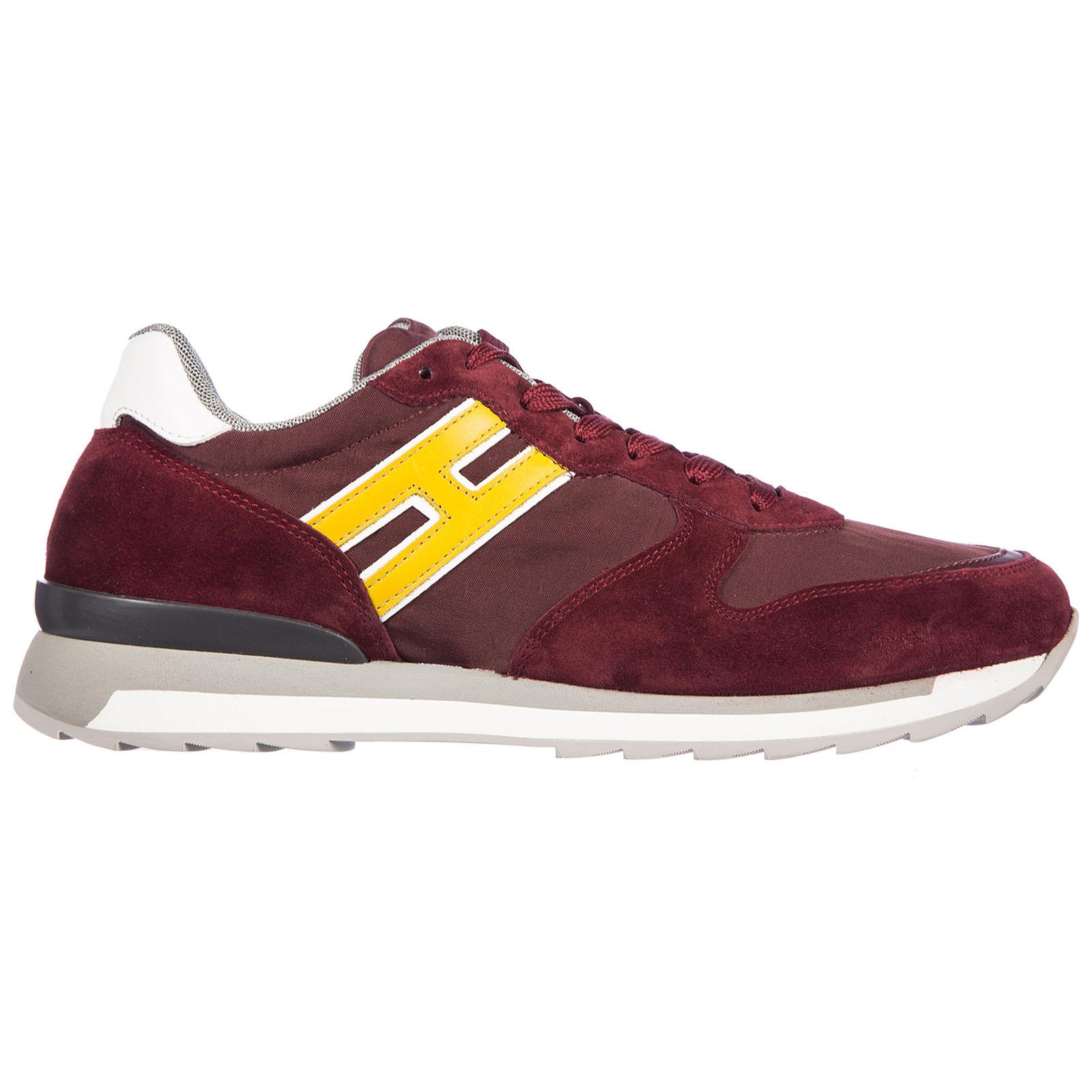 Sneakers Hogan Rebel HXM2610R6718IT0AZY bordeaux  2597edc8048