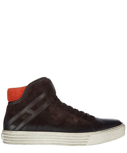 Zapatillas altas Hogan Rebel HXM2060H5211ZB0AZL marrone