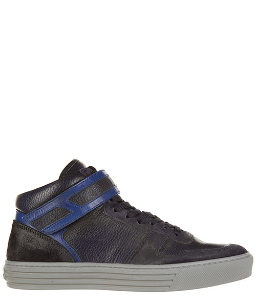 Zapatillas altas Hogan Rebel HXM2060O5506Z52B01 blu