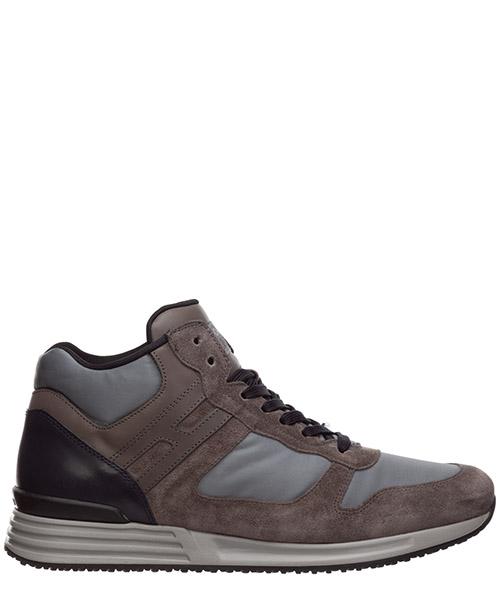 Sneakers Hogan Rebel HXM2180P3707BX4190 piombo / blu denim
