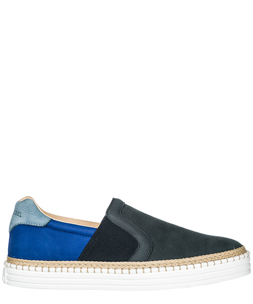 Scarpe slip on Hogan Rebel R260 HXM2600X5406RN0XRL blu
