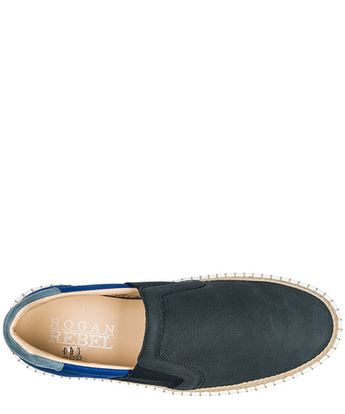 Herren leder slip on slipper sneakers  r260 secondary image
