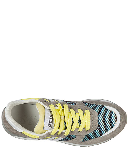Men's shoes suede trainers sneakers r261 secondary image