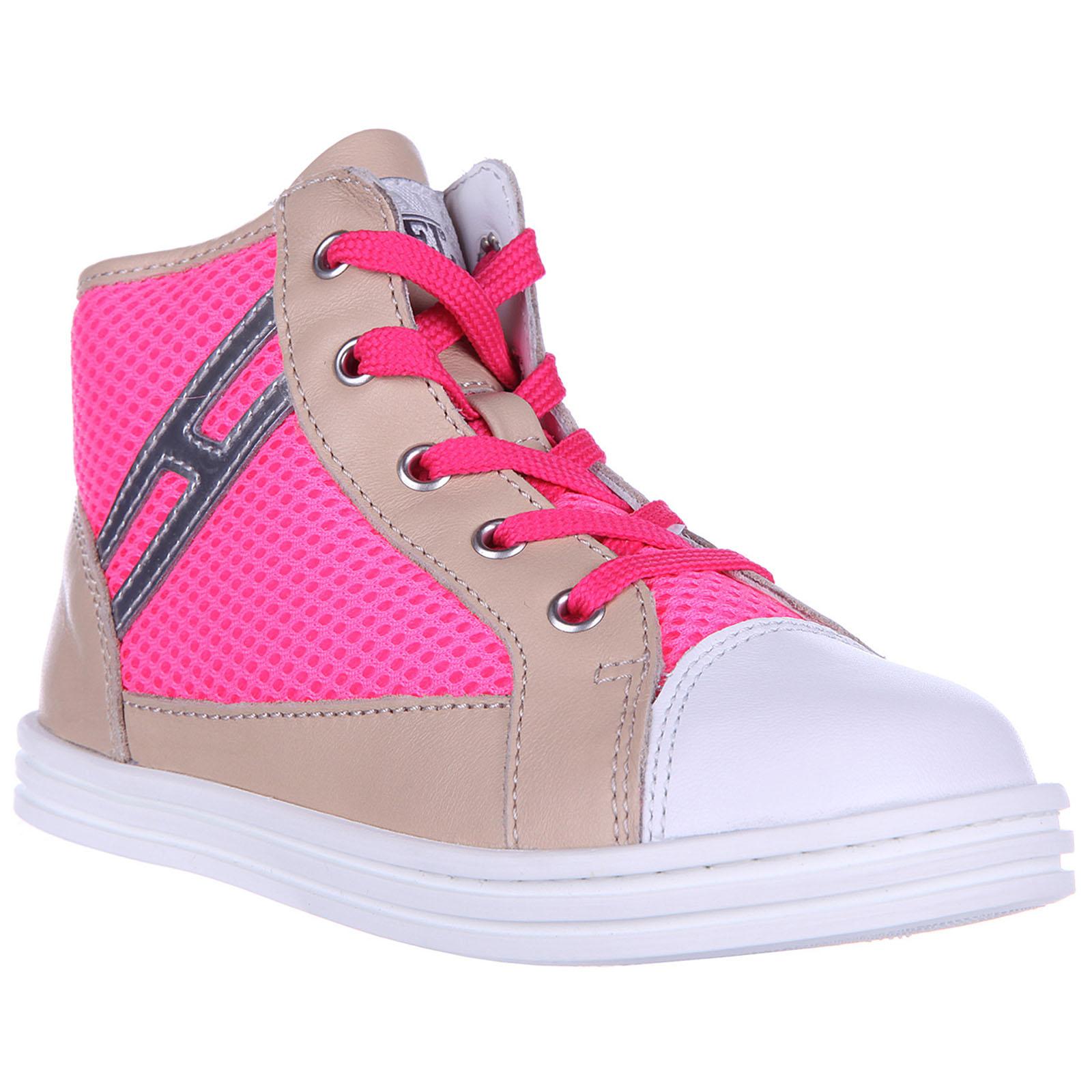 558d5c063c264 ... Scarpe sneakers bimba bambina alte pelle rebel r141 ...