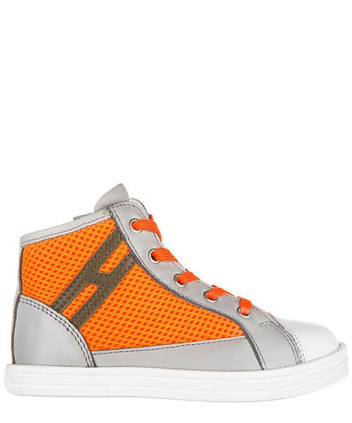 Sneakers alte Hogan Rebel r141 hxt1410i390d5g0xbe grigio