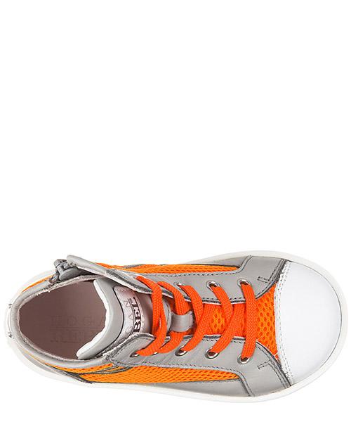Scarpe sneakers bambino alte pelle rebel r141 secondary image