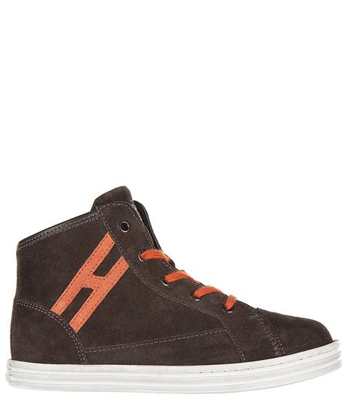 Высокие кроссовки Hogan Rebel R141 HXT1410I3914C60AT5 marrone