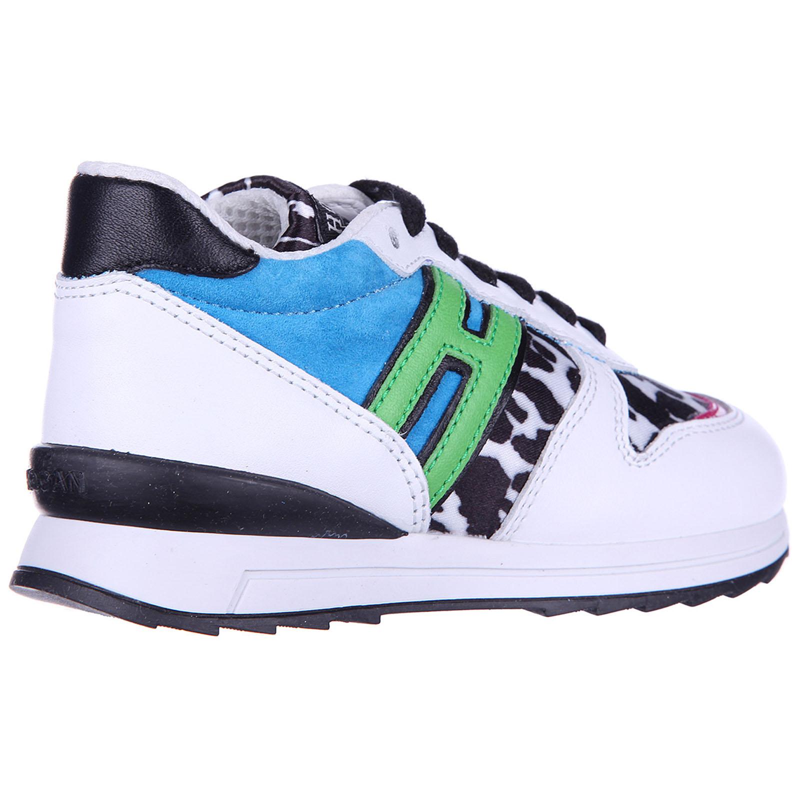 ... Scarpe sneakers bimba bambina pelle r 261 animalier zip rebel ... 3ef1445d320