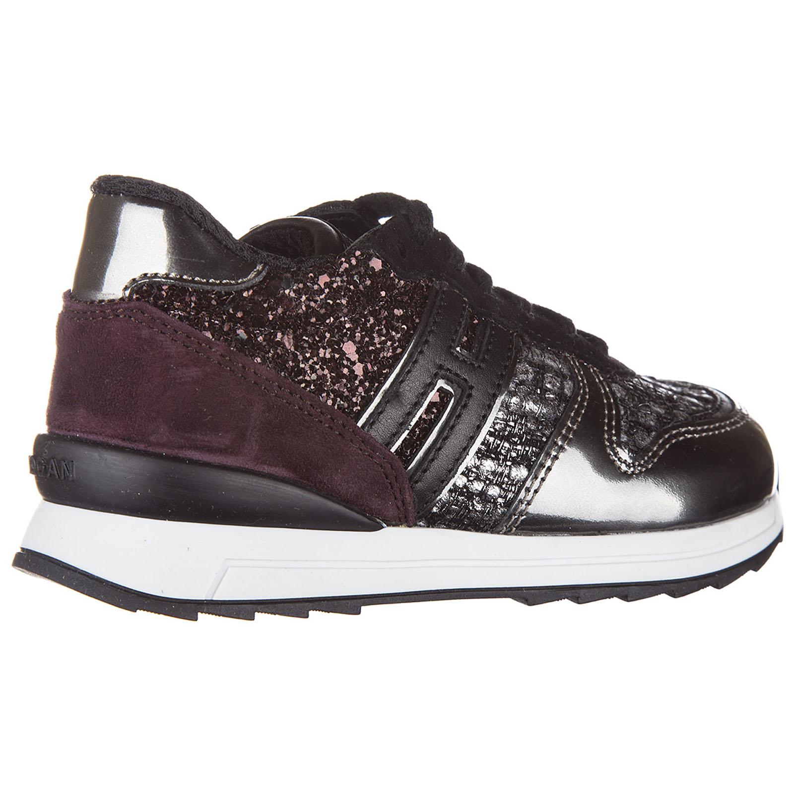 3bcfbce036d625 ... Scarpe sneakers bimba bambina pelle r261 allacciato zip ...