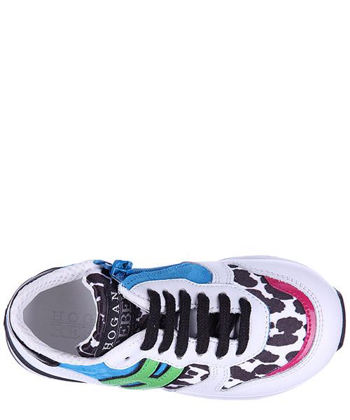 Scarpe sneakers bimba bambina pelle r261 secondary image