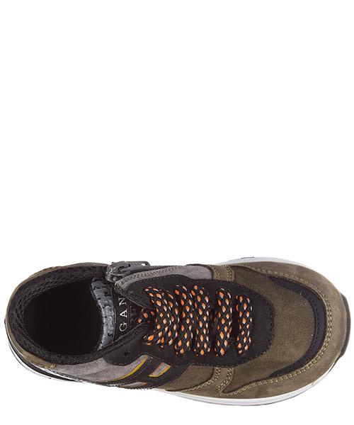 Scarpe sneakers bimbo bambino camoscio r261 secondary image