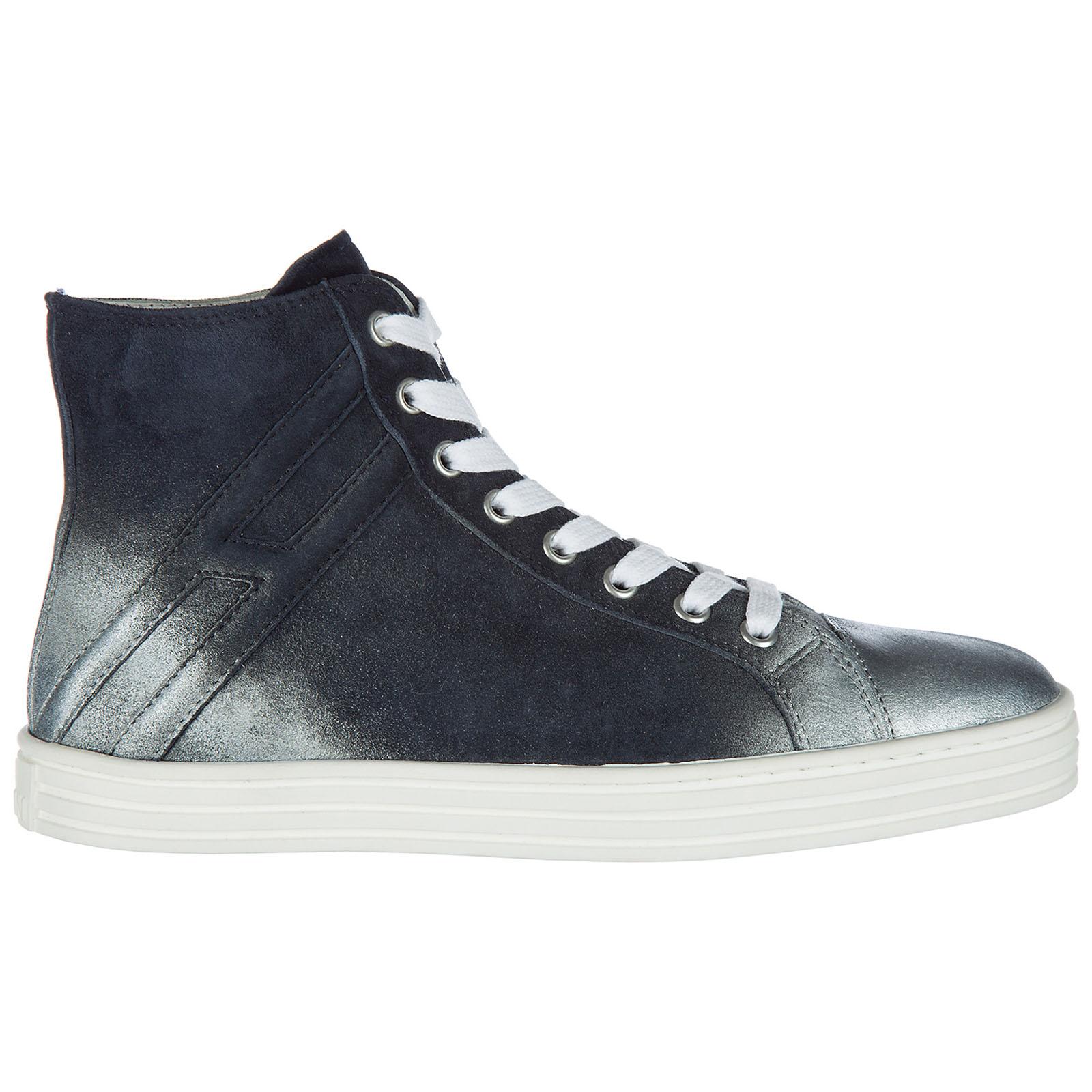selezione migliore fdf49 d6de0 Scarpe sneakers alte donna in camoscio r141