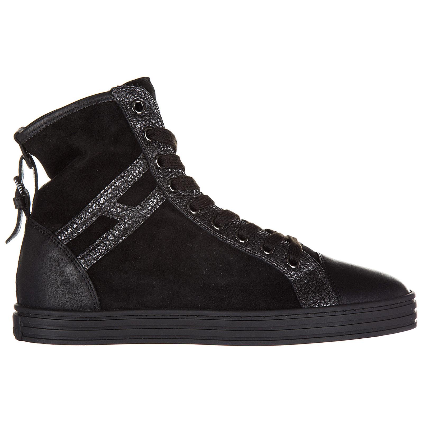 a36fce9791b56 Sneakers alte Hogan Rebel R182 HXW1820D661EJA0039 nero