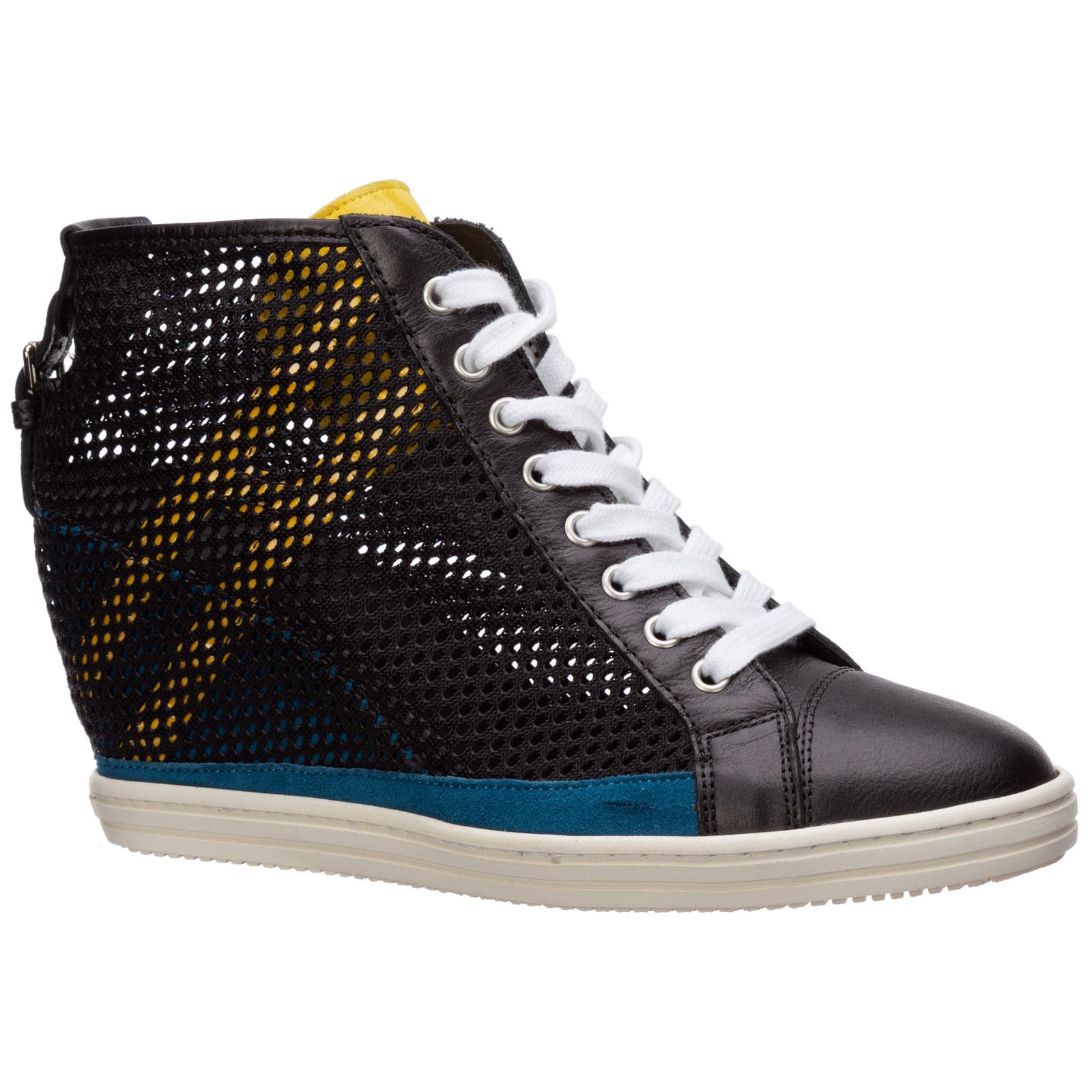 Scarpe sneakers alte donna r199
